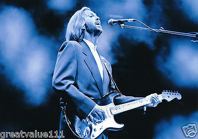Eric Clapton Photo 1992 Unique Unreleased Image Exclusive 12Inchs Ra Hall London