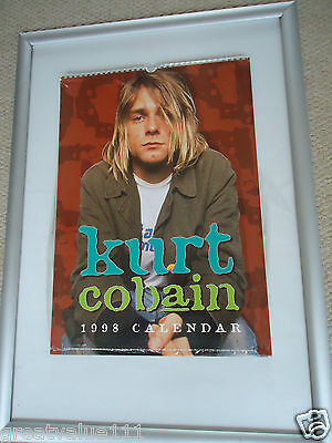 Kurt Cobain Calendar 1998 Original Vintage 18Yrs Old Rare Valuable Unopened Gem