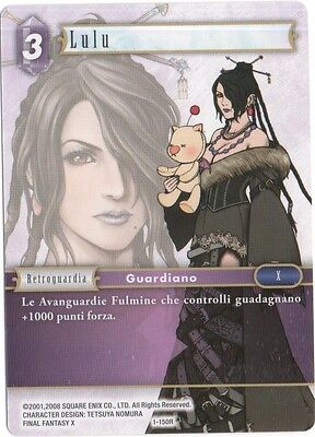 0Final Fantasy TCG Lulu Opus 1 1-150R Italiano