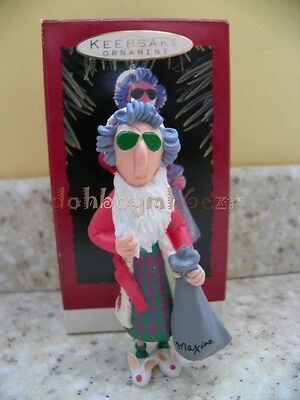 Hallmark 1993 Maxine Christmas Ornament