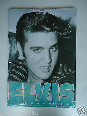 Elvis Presley Calendar 2000 Original Vintage 16 Years Old Rare Valuable Unopened