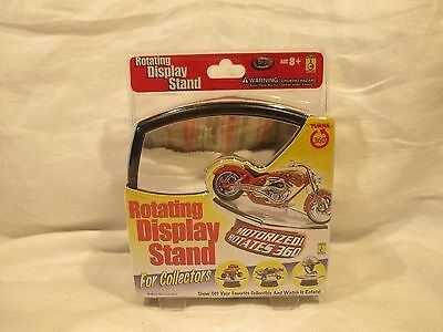 """Toy Zone 1/32 Scale Rotating Display Stand Turntable w/Mirror Base 5 1/2"""" #14105"""