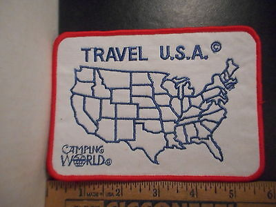 Travel U.S.A. Camping World Patch   6400A.