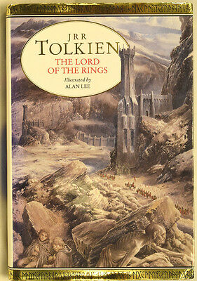 JRR Tolkien ~ The Lord of the Rings, with illustrations