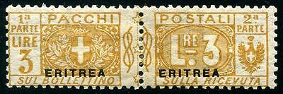 ERITREA Sc.# Q7 Key Stamp, Nice Pair, Well Centered LH