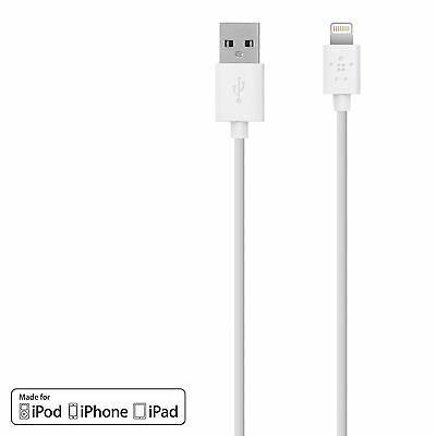 Belkin 3 m Lightning to USB Charge and Sync Cable for Apple iPad Pro/iP... - NEW