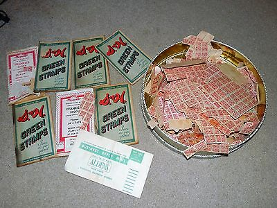 Vintage Frankie's Foods S&h Green Red Stamps Book Lot Used Profit