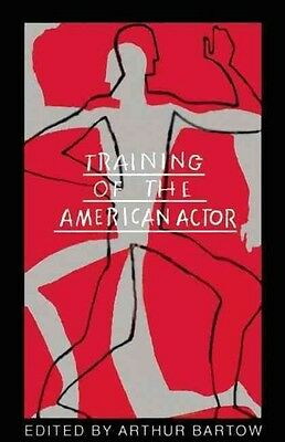 Training of the American Actor by Arthur Bartow Paperback Book (English)