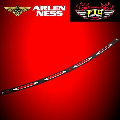 Arlen Ness Windshield Trim Deep Cut Black 2014-2017 HD FLHT/FLHX 03-684