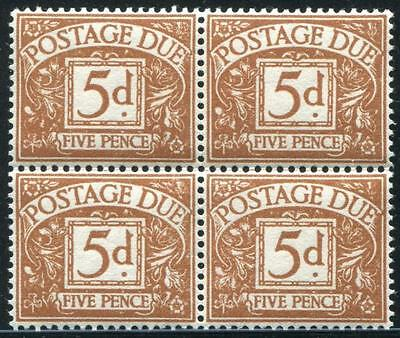 GREAT BRITAIN Sc.# J43 Block of Four Stamps