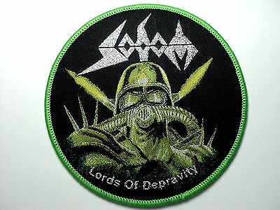 Sodom Woven  Patch