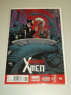Wolverine And The X-Men #8 Marvel Now Comics Nm (9.4)
