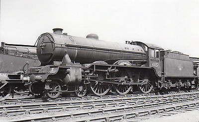 "Photo Ex LNER Class B17 No 61657 ""Doncaster Rovers"" at Stratford MPD 12/6/60 PHG"