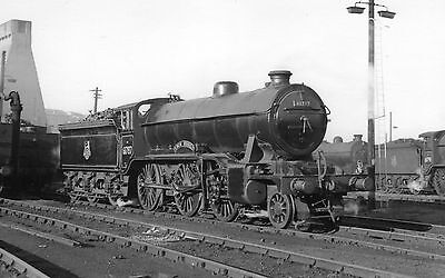 "Photo Ex LNER Class K2 No 61787 ""Loch Quich"" at Eastfield MPD 28/8/57 PHG"