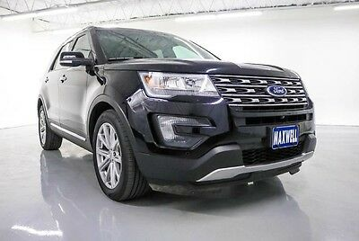 2016 Ford Explorer Limited Sport Utility 4-Door 2016 Ford Limited