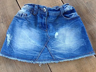 Girls next Denim Skirt Age 6 Years