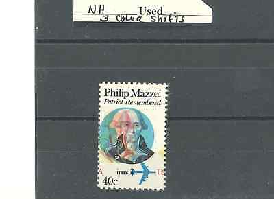 US ERRORS/EFO STAMPS   SC #C98    NH   3 Color Shifts