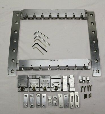 System 3R Wire Edm Wedm Ruler Kit With Accessories