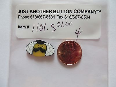 Just Another Button Company Button 1101.s - Small Bee