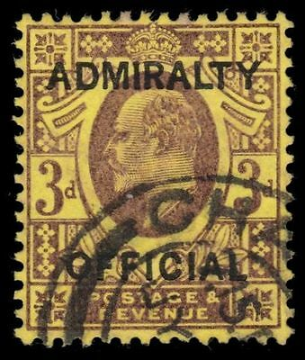"""GREAT BRITAIN O77 (SG O106) - King Edward VII """"ADMIRALTY OFFICIAL"""" (pa60738)"""