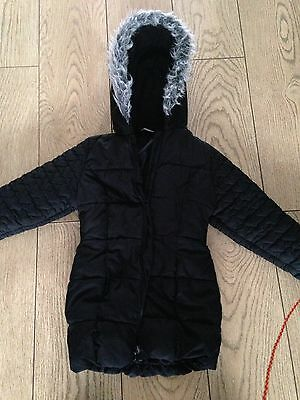 Hooded,padded Coat By George Age 7-8