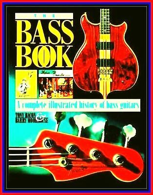 ULTIMATE BASS GUITAR WELTMARKEN MODELLE Songbook TONY BACON FARB GALLERY HISTORY