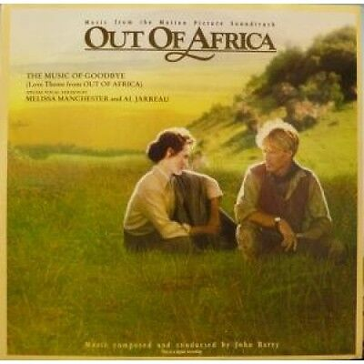 """OUT OF AFRICA Music From The Motion Picture Soundtrack 12"""" VINYL 3 Track Music"""