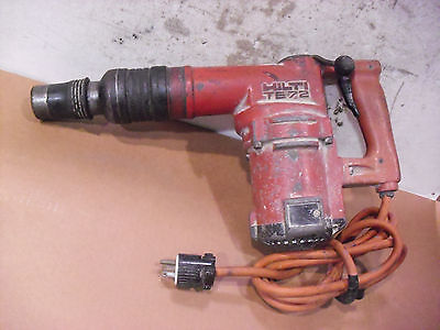 Hilti Rotary Hammer Model TE-72 Sold As Is