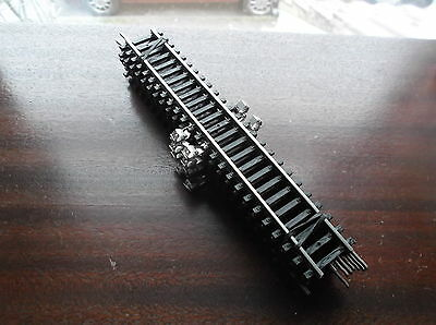 Seven Piko Ho Gauge Straight Rails 16Cm /7In Long W/ Power Point   Nos