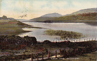 Loch Fad, Rothesay, Scotland - Posted 1912