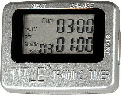 Title Boxing Training Round Timer