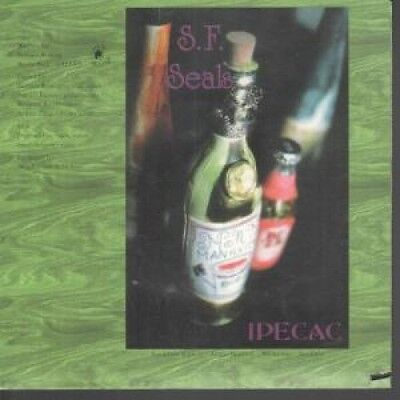 """SF SEALS Ipecac 7"""" VINYL B/W How Did You Know (Ole176) Pic Sleeve But Has Small"""