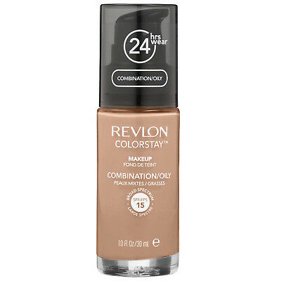 NEW Revlon ColorStay Foundation Oily/Combination Skin 340 Early Tan SPF15 30ml