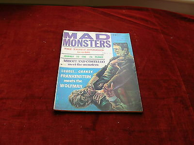 Vintage Monster Mag Mad Monsters No 5 63/64  Abbott Costello Mexican Horror