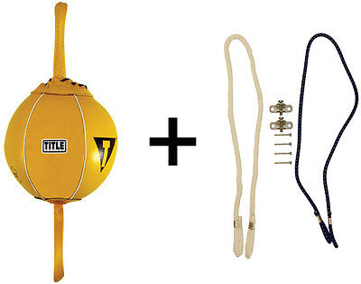 """Title Boxing 6"""" Double End Bag Package"""