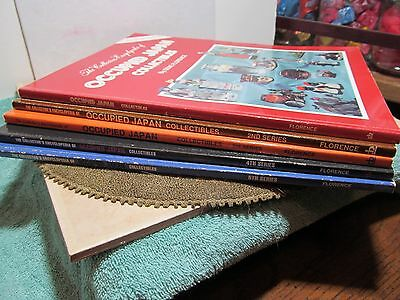 "5 book set of ""The Collectors Encyclopedia of Occupied Japan Collectibles""."