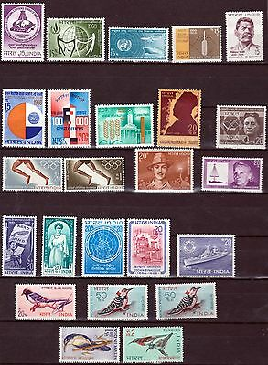 India 1968 complete commerative year pack, MH