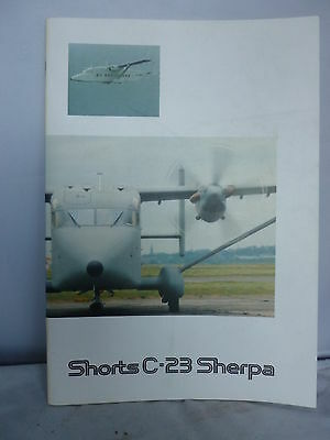 Shorts C-23 Sherpa Brochure - Colour Illustrated