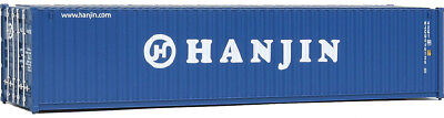 Walthers HO Scale 40' Corrugated-Side Shipping Container Hanjin