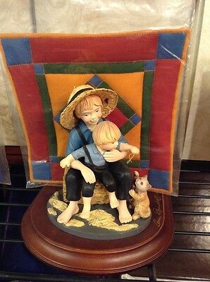 FREE SHIPPING!! Amish Heritage Collection LIMITED EDITION Eli and Benjamen