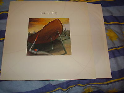 Sting - The soul cages - RARE Vinyl LP album from 1991