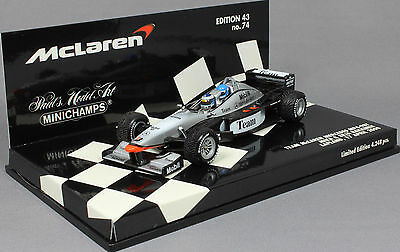 Minichamps McLaren Mercedes MP4-98T 2 Seater Mika Hakkinen 530984378 1/43 NEW