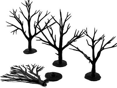 """Woodland Scenics Tree Armatures (Trunks) Deciduous 3"""" to 5"""" 28-Pack"""