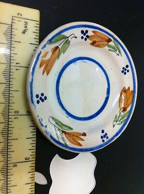 Henriot Quimper Handpainted Tiny Plate Free Uk Postage