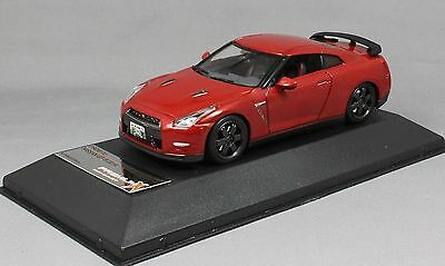Premium X Nissan GT-R Black Edition in Red 2014 PRD517J 1/43 NEW