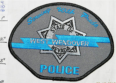 Nevada, West Wendover Police Dept Patch