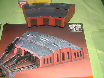 Marklin 8983 Sheds In Good Condition In Box Z Gauge
