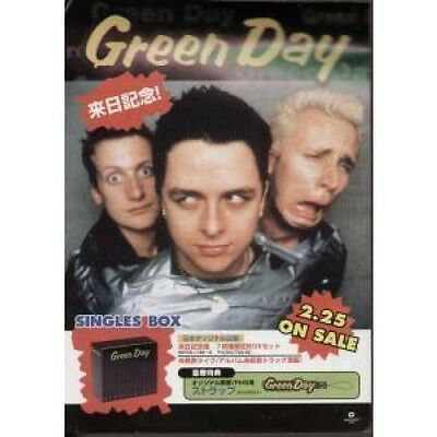 GREEN DAY Singles Box FLYER Double Sided A4 Flyer Issued To Promote Japanese