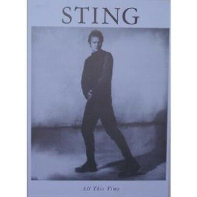 STING All This Time POSTER 80 X 60 Cm Black And White Poster