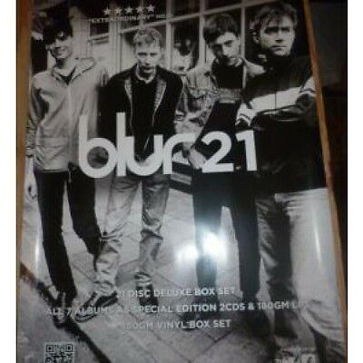 BLUR 21 POSTER Double Sided Promo Poster Measuring 75Cm By 50Cm For The 21 Box